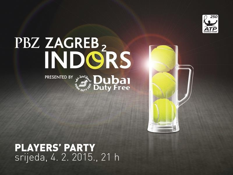 Srijeda: Players Party! Zagreb Indoors